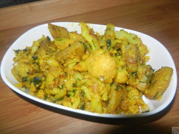 Gobhi Aloo Sabzi आलू गोभी की सब्जी