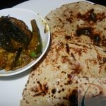 Bharwan Baigan Sabzi with Jowar Roti भरवाँ बैंगन सब्जी व जोवर रोटी