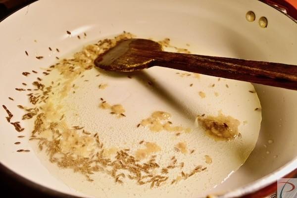 जीरा व् अदरक लहसुन पेस्ट Jeera, Garlic Ginger paste
