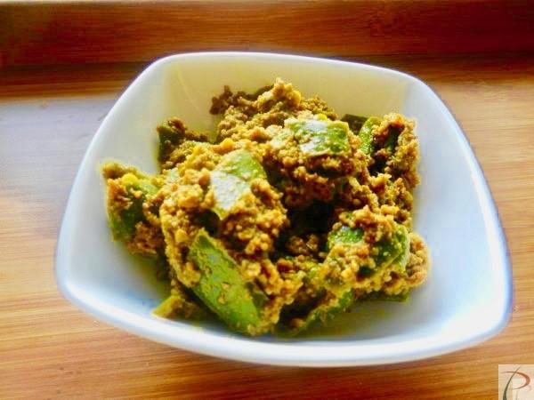 मोटी हरी मिर्च अचार Moti Hari Mirch Achar