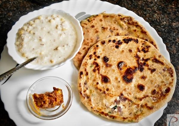 Paneer Paratha पनीर के पराठे