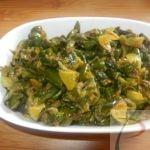 Turai/ Ridge guard chilka sabji तुरई छिलका की सब्जी
