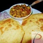 छोला भटूरा chola bhatura