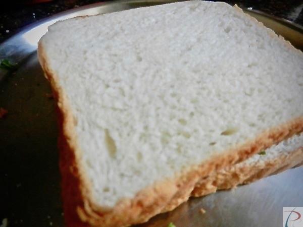 कच्ची सैंडविच raw sandwich