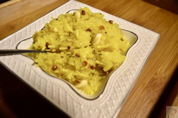 केसरिया मीठे भात चावल Meethe Chawal Safforon Rice