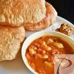 पूरी भाजी poori bhaji