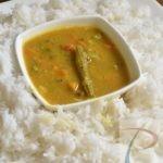 Sambar Chawal सांभर चावल