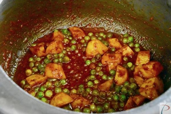 सब्जी तैयार है veg is made