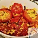 पनीर भरवां टमाटर Paneer stuffed tomato