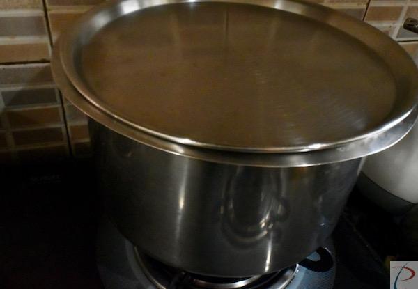 पानी उबालें boil water