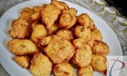 सूजी का पुआ पुए Suji ka Pua Pue Sweet Semolina Fritters