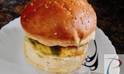 आलू टिक्की बर्गर Aloo tikki burger
