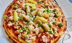 वेज पिज़्ज़ा veg pizza